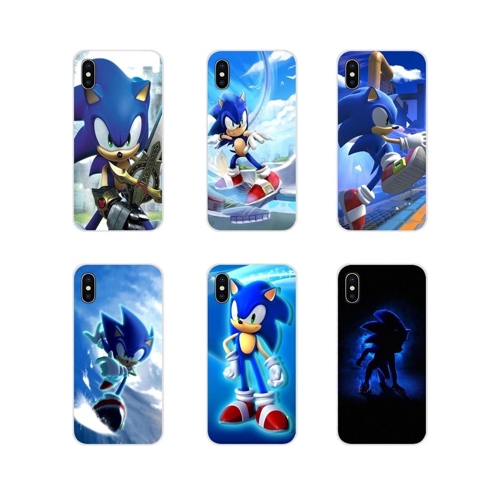 Accesorios de la cáscara del teléfono cubre sonic lindo colorido para LG G3 G4 Mini G5 G6 G7 Q6 Q7 Q8 Q9 V10 V20 V30 X Power 2 3 K10 K4 K8 2017