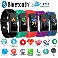 FXM جديد الكفة ساعة نسائية بلوتوث سوار صحي معدل ضربات القلب ضغط الدم الذكية الفرقة جهاز تعقب للياقة البدنية Smartband معصمه الفرقة