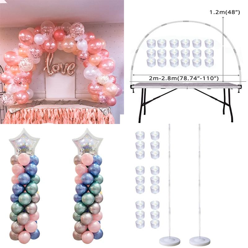 Воздушный шар набор для арки, колонна-подставка для украшения свадьбы, дня рождения, Детские воздушные шары, аксессуары, воздушные шары, дек...