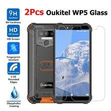2 pièces verre pour Oukitel WP5 verre trempé protecteur décran anti-rayures Smartphone LCD Film pour Oukitel WP 5 verre couverture 5.45
