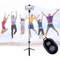 unipod selfie stick handheld tripod shutter universal all in one wireless selfie stick with remote control for phone