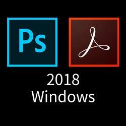 Adobe creative cloud acrobat pro dc e photoshop cc 2018 tudo em um x64 multilíngue win/mac