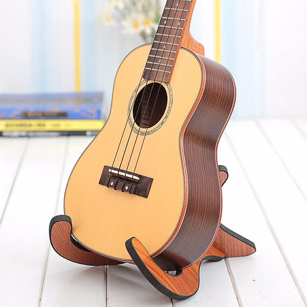 Soporte para ukelele desmontable de madera Longteam, soporte para ukelele, accesorios para soporte de guitarra