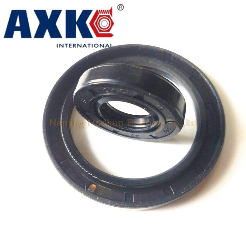 AXK120x160x12/13/14/15 goma de nitrilo NBR dos resortes de doble labio TC O junta de anillo junta de aceite de esqueleto de eje Radial
