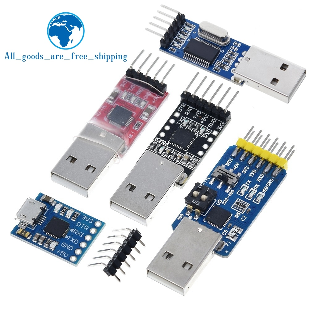 CP2102 Usb 2.0 Naar Uart Ttl 5PIN Connector Module Serial Converter Stc Vervangen FT232 CH340 PL2303 CP2102 Micro Usb Voor aduino