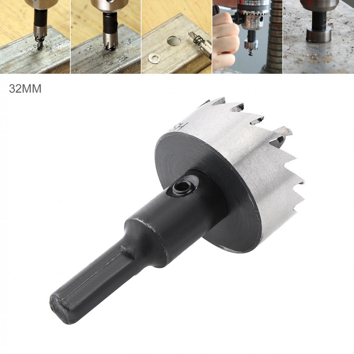 Taladro cortador de sierra de 32mm HSS para taladros de pistola/taladros de banco/taladros magnéticos/taladros de pistola de aire