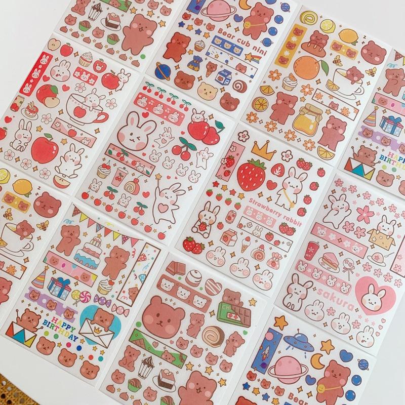 4pc-ins-adesivi-creativi-simpatici-orsetti-gommosi-pacchetto-espressione-festival-adesivi-per-telefono-tronco-manuale-materiale-adesivo-decorativo