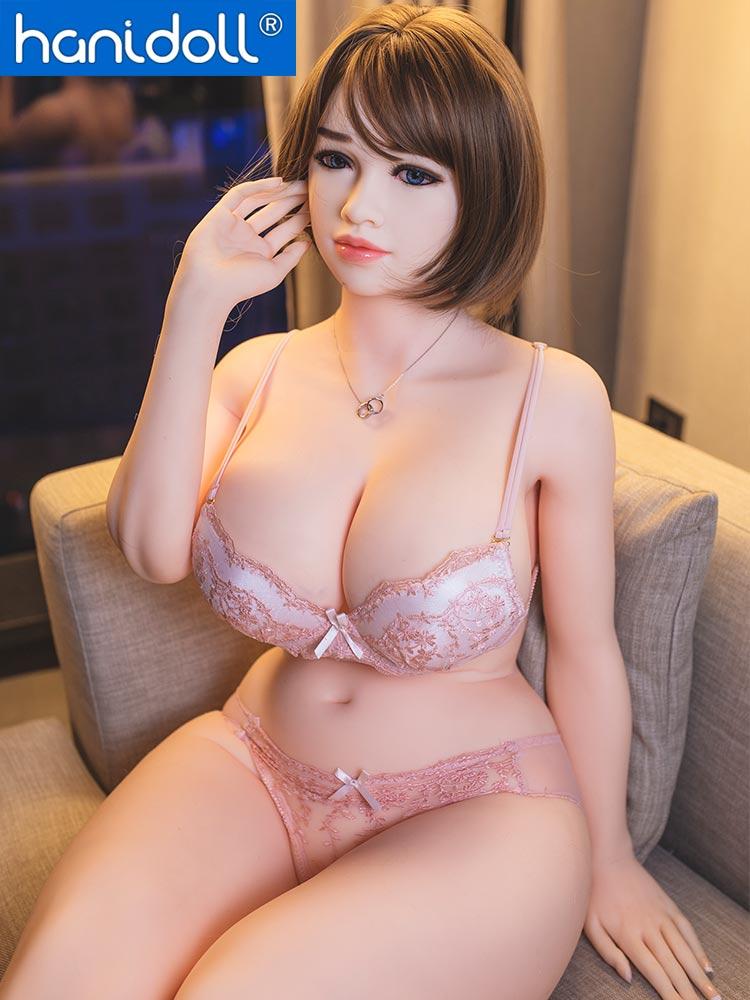 Hbdaf927a798947c4a1f6d2afb07c5e7dt Hanidoll 162cm muñeca del sexo para los hombres realista Vagina coño pecho gordo trasero adultos juguetes sexuales para los hombres Real TPE muñeca de amor