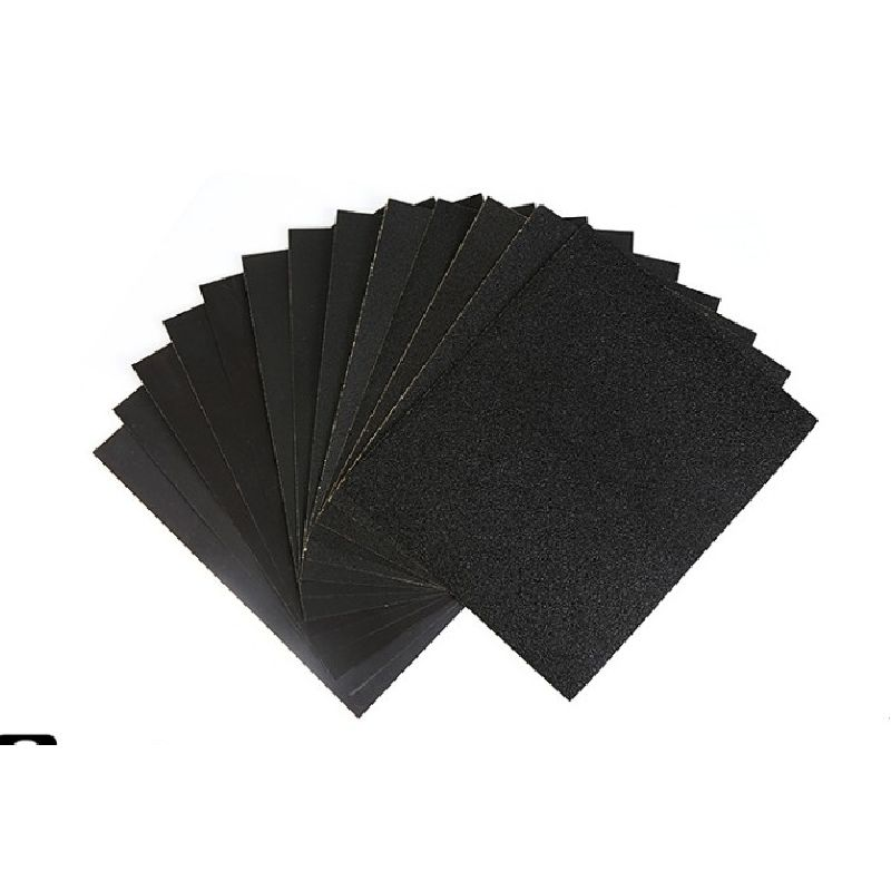 230x270mm 60-2000 Grit 20pcs Fine/Coarse Sand Paper Amber Beeswax Jade Polishing Water Proof Metalworking Sanding Paper