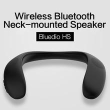 2020 nouveau Bluedio HS cou-monté Bluetooth 5.0 haut-parleur haut-parleur intelligent TF carte FM haut-parleur YouTuBe chaud