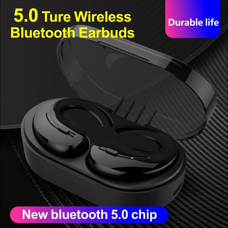 Auricular Bluetooth Beatsmod A8-TWS V5.0, auriculares inalámbricos, Mini manos libres, 24 horas, parlante con micrófono para iPhone Android