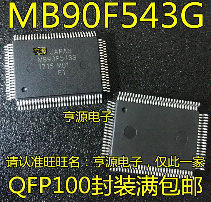 MB90F543  MB90F543G   QFP100