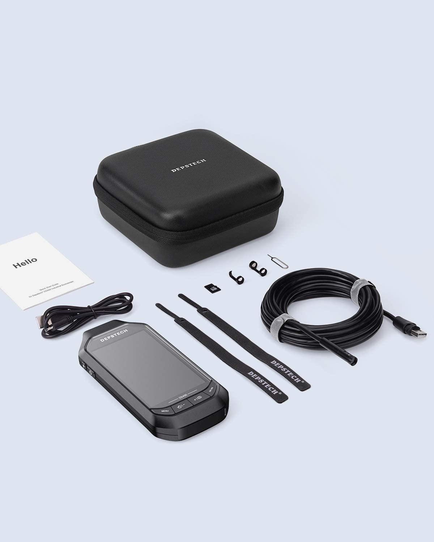 DEPSTECH Endoscope Dual Lens 4.5