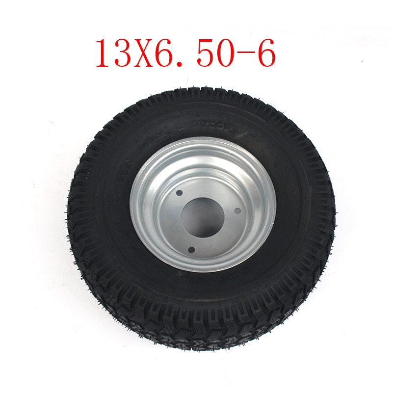 2pcs Super High Performance Go Kart Karting Atv Utv Buggy 13x6 50 6 Inch Wheel 13 6 50 6 Tire With Hub Tyres Aliexpress