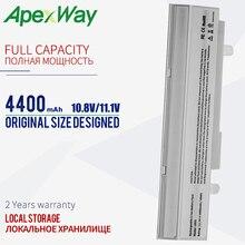 Apexway Blanc 4400mAh batterie dordinateur portable pour asus Eee PC 1215N 1011 VX6 1015B 1015PE 1011B 1011BX 1011C 1015P 1015T 1015PN 1016P