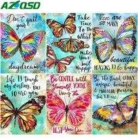 AZQSD-peinture diamant theme papillon  mosaique danimaux  point de croix  fait a la main  images en strass  affichage complet  cadeau  decoration de maison
