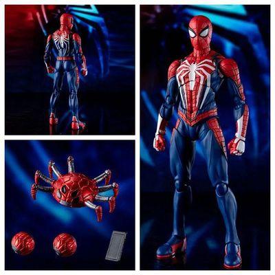 Marvel Человек-паук Mafex 075 Удивительный Человек-паук комиксов подвижные суставы фигурка модель игрушки 16 см