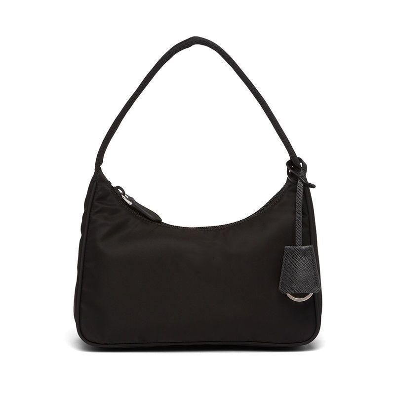 خمر النايلون حقيبة كروسبودي المرأة مصمم الأسود الرياضة حقائب كتف متنقلة الإناث حقائب عادية حقائب السفر الصغيرة