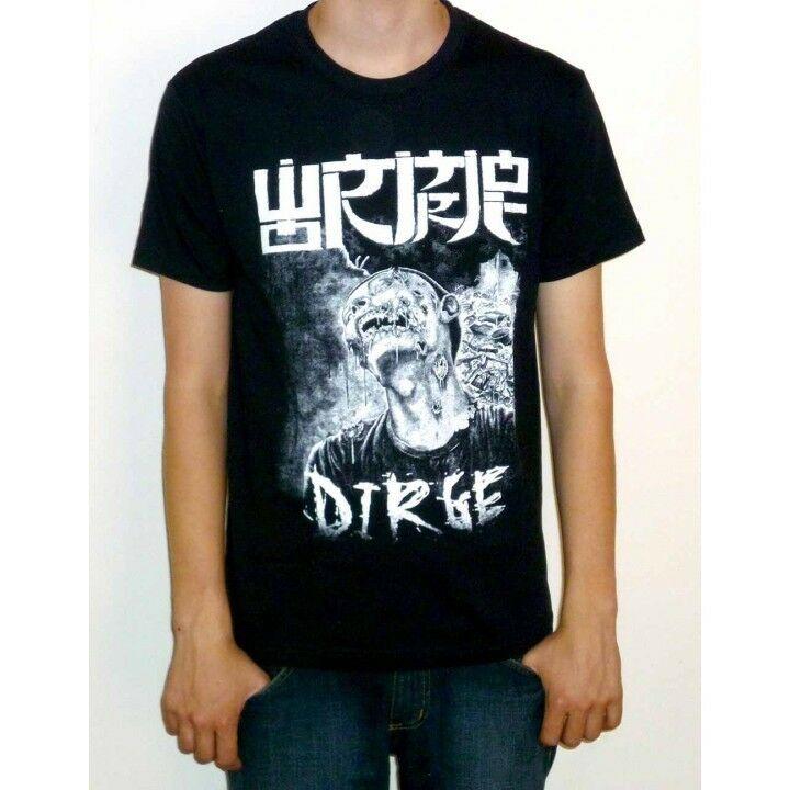 Wormrot dirge t camisa nova oficial abuso de ruído tshirt