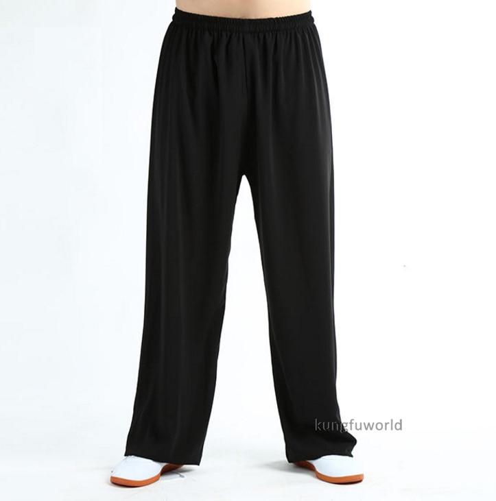 Cómodo verano Tai chi Kung fu pantalones arte marcial wushu pantalones Wing Chun Shaolin ropa