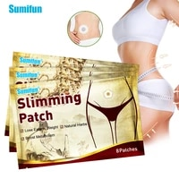 24pcs slimming navel plaster let abdomen arms weight lose slim patch burning fat patch keep body shape stickers body massager