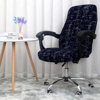 office chair cover elastic universal rotating armrest lifting computer chair seat cover anti dirty removable washable slipcovers