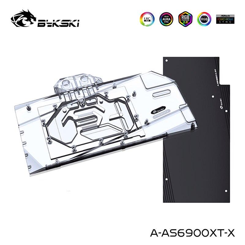 Get ASUS TUF RX 6900XT, Bykski GPU Water Cooling Block 6800XT O16G Gaming Graphics Card Liquid Cooler, A-AS6900XT-X gpu backplate