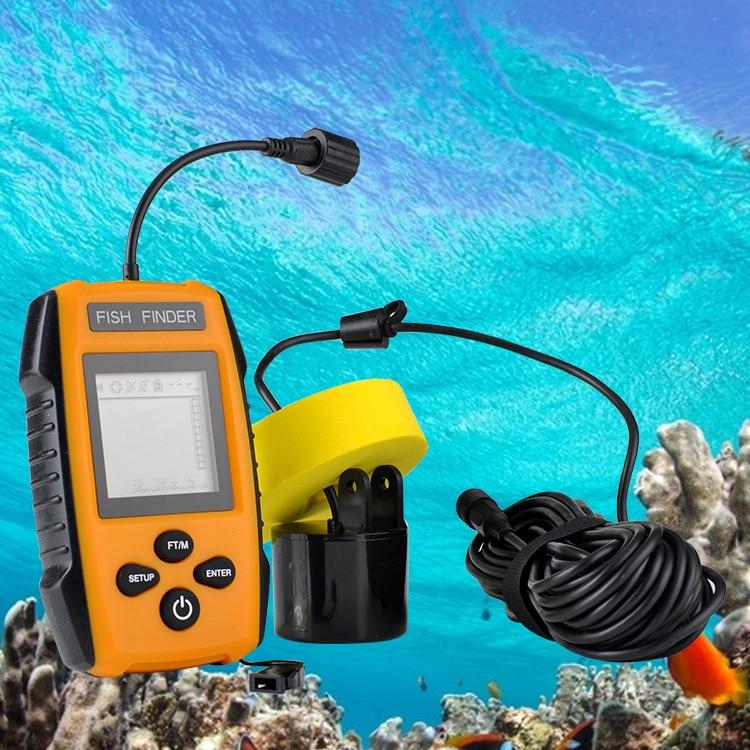 Equipo de pesca, Sonar de aguas profundas, buscador de peces Visual HD, buscador de peces, herramienta de pesca, buscador de peces más profundo