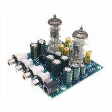 Potentiomètre stéréo AC 12V Valve 6J1 Tube fièvre pré amplificateur préampli carte de préamplificateur casque tampon kit de bricolage Module
