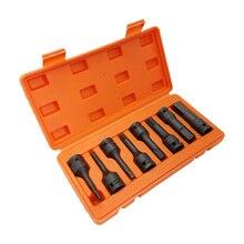 8pc 1/2 Zoll Auswirkungen Stick Torx Buchse Set T30-T80 Hex Buchse Set H5-H19 Stick Steckschlüssel Werkzeug Kit Buchse große Werkzeug Allen Schlüssel