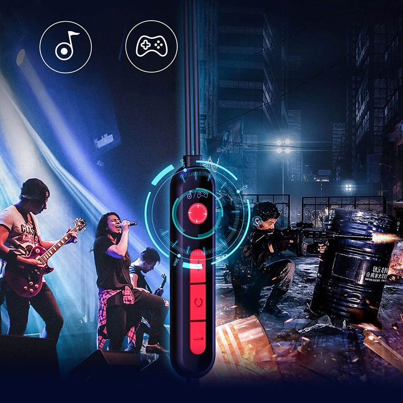 Youpin 3D Gaming Headset Wired Earphone GAMO Immersive Virtual with Mic Headphones Type-C Game Assistant For Mobile Phone Men's enlarge