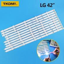 "TKDMR LED Backlight strip For LG 42"" TV 6916L-1412A 6916L-1413A 6916L-1414A 6916L-1415A 42LN540V 42LN613V 42LA620V 42LA615V"