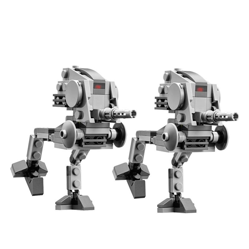 NEUE Star AT-DP AT-ST Wars Destroyer Droids Clone Troopers Mini Wars figuren kompatibel 75000 Bauen moc block kind spielzeug 2 teile/los