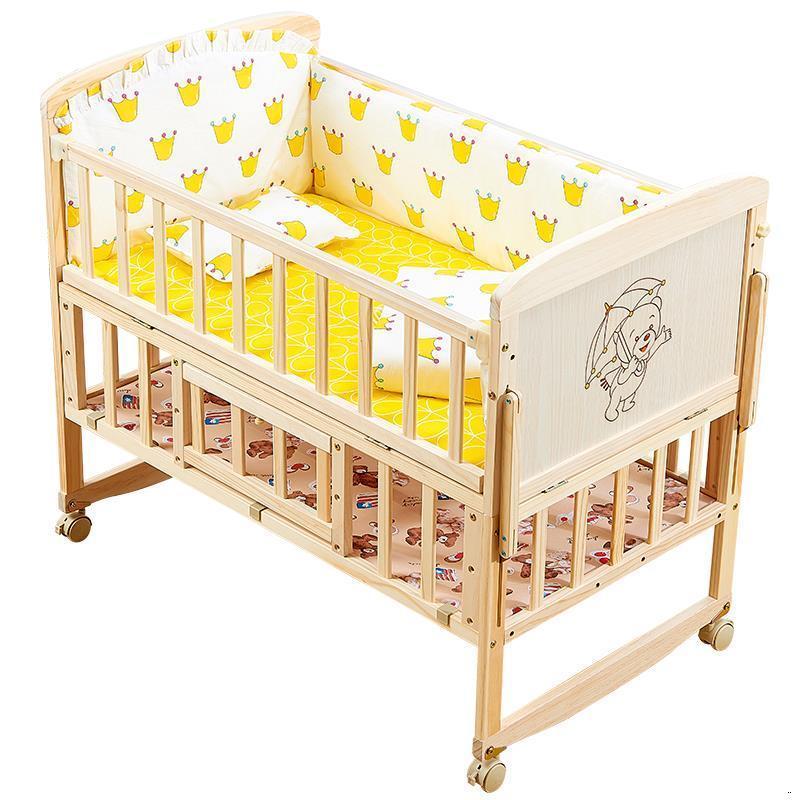 Letto Bambini Dormitorio de niña para chico Muebles de bebé Cama Infantil de madera para niños