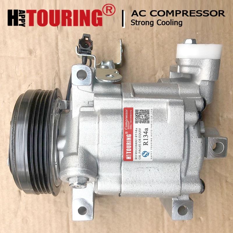 Автомобильный Компрессор переменного тока для Subaru Forester Impreza 73111fg001 73111-SA010 73111SA010 506021-7572 5060217572 DKV10R DKV-10R