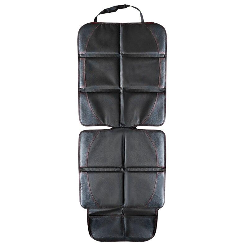Универсальный защитный коврик для детского автокресла, черный защитный коврик для сиденья