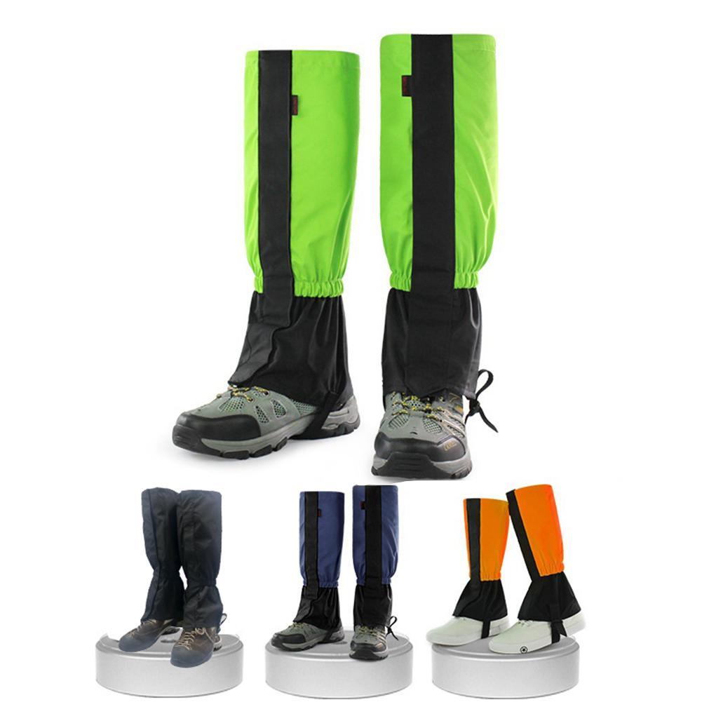 Durable 1 par X polainas clásicas delicadas de Nylon legging para esquí polainas impermeable protección de las piernas cubierta de pie a prueba de arena