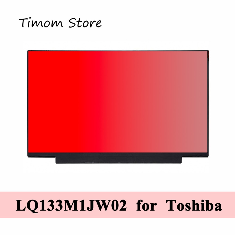 LQ133M1JW02 para Sharp marca 100% de Color sRGB FHD IPS 30 pines...