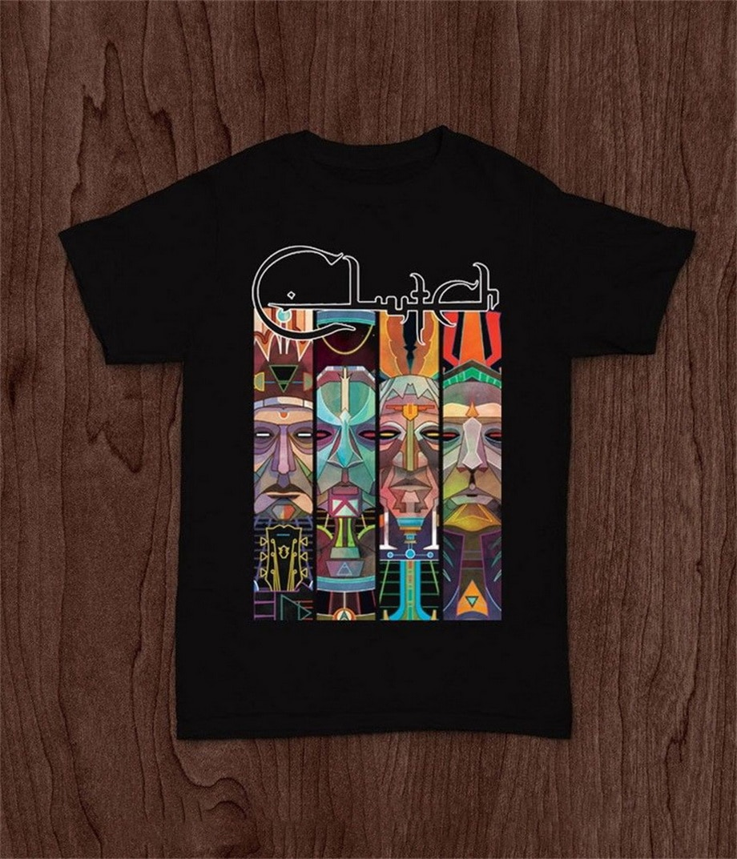 Clutch Stoner Rock Band Corrosion Of Conformity Mastodon T-shirt S M L Xl 2xl Printed Men Bodybuilding T Shirt