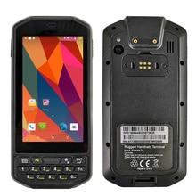 Original Kcosit K41 Android Scanner de codes à barres sans fil robuste Portable PDA clavier 1D 2D QR Corde Portable 4G GPS zèbre Honeywell