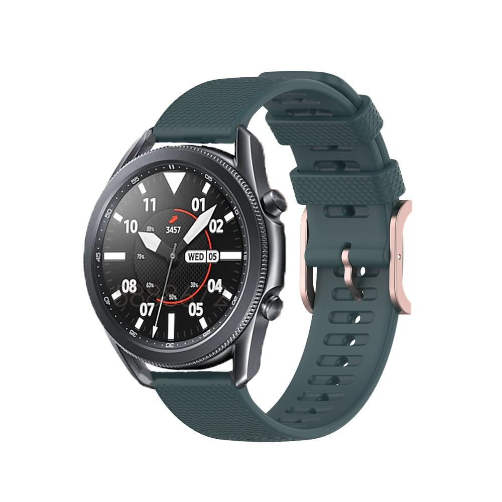 Para samsung galaxy relógio 3 45mm cinta para huawei relógio gt2 46mm/magia gt/honra relógio pulseira de silicone mágico acessórios