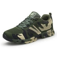 lightweight military tactical shoes for men breathable outdoor trekking shoes non slip sport shoes training shoes