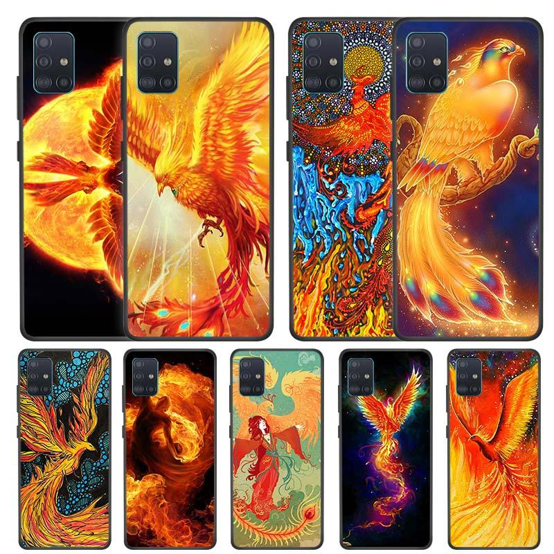 The Phoenix Case for Samsung Galaxy A51 A71 5G A Quantum A21s A91 M10 A21 A11 A31 A41 M51 M11 Silicone Phone Coque