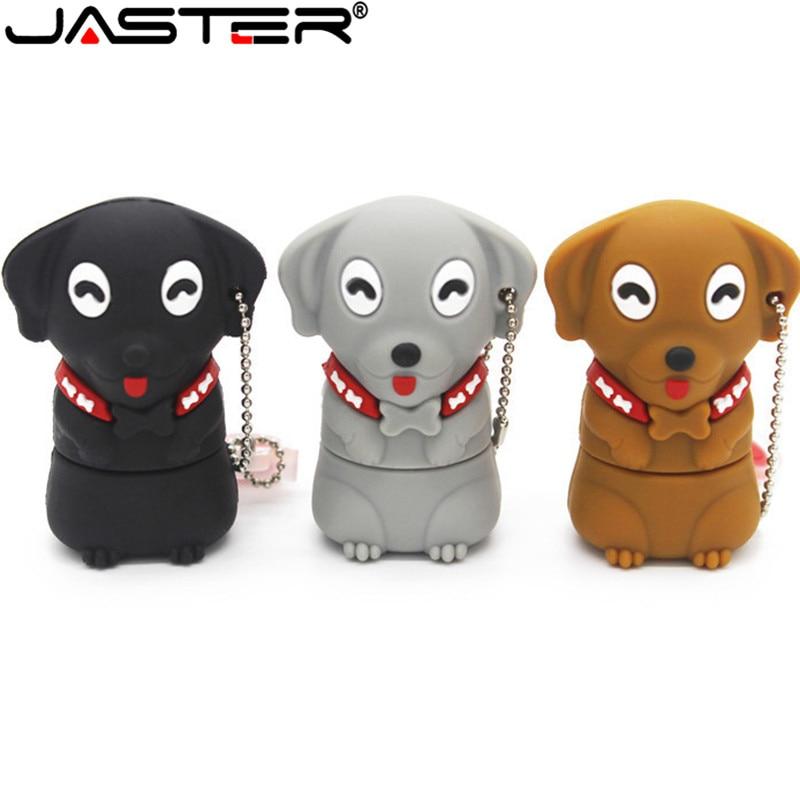 USB флеш-накопитель JASTER с изображением собаки из мультфильма, USB 2,0, флеш-накопитель с изображением миньонов, карта памяти, флешка 4 ГБ, 8 ГБ, 16 ГБ, 32 ГБ, подарок