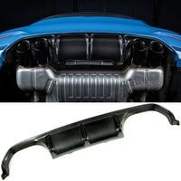 P Style Carbon fiber Rear Diffuser Fit For BMW F80 M3 F82 F83 M4