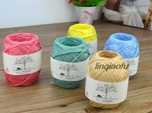 Japanese natural fiber raffia hat bag and paper thread