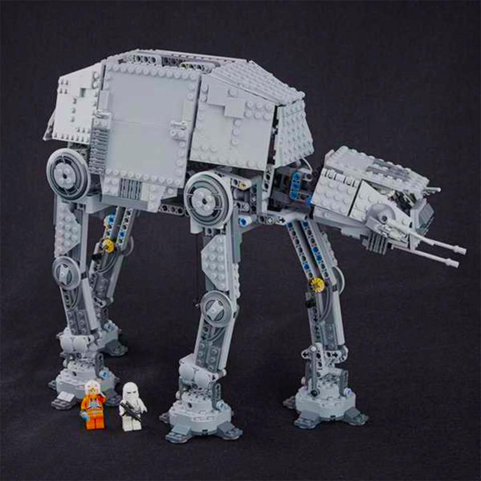 10908 Star Toy Wars The Force Awakens Atat Walker Set Building Blocks Bricks Compatible With LepininglyNew Birthday Kid Toys