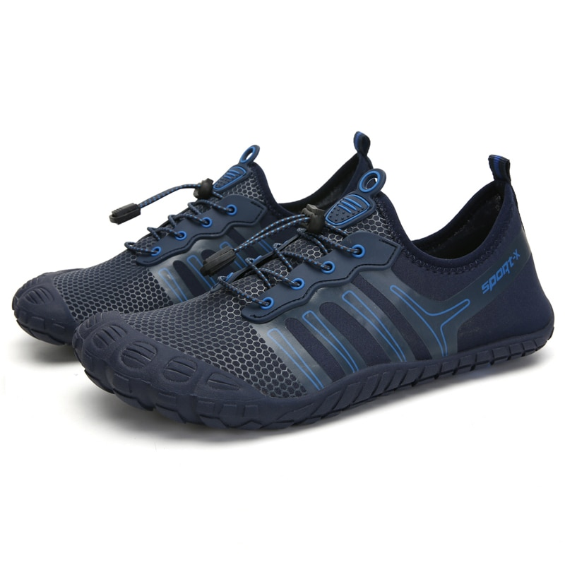 Zapatillas Unisex zapatos de agua hombres descalzos sandalias de playa al aire libre aguas arriba Aqua zapatos de secado rápido Río Mar buceo natación grande #48