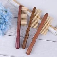 1pcs Natural Sandalwood Hair Comb Handmade Wooden Com Anti-hair Loose Hair Combsb Detangling Wide Tooth Comb