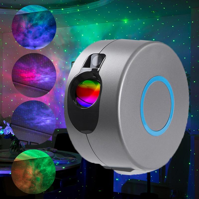 VKTECH-جهاز عرض ليزر LED ، صورة السماء المرصعة بالنجوم ، المجرة ، ضوء الليل مع جهاز التحكم عن بعد للديسكو ، المسرح ، البار ، الحفلة المنزلية